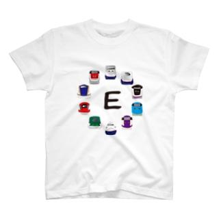 E1系新幹線からE7系新幹線まで詰め合わせ T-shirts