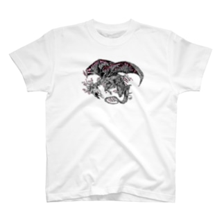 Dragon Sakura 桜龍 T-shirts