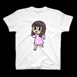 ガウ子ショップのルンルンみやこ Tシャツ