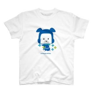 忍者犬たろうくん_シュリケンA T-shirts