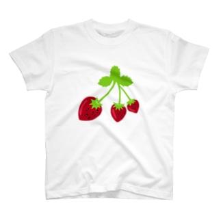 苺の三姉妹🍓 T-shirts