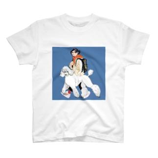 mmiyamotoのまっしろスタンプー T-Shirt