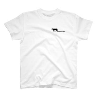 """""""うまのあと"""" コラボ T-shirts"""