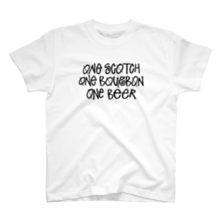 One Scotch, One Bourbon, One Beer T-shirts
