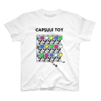 がちゃがちゃ T-shirts