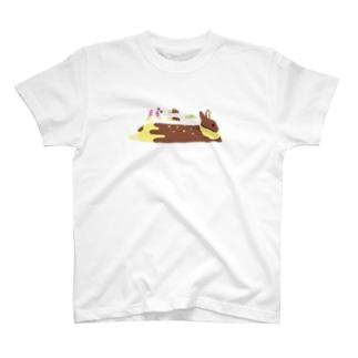 きみはじつにバナナな T-shirts