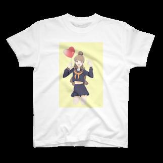 luna_nekomiのJKの日常 T-shirts