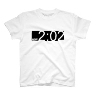 午前2時2分 T-shirts