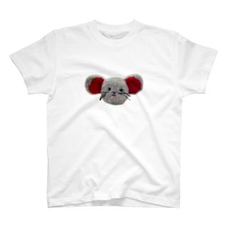 はっちゃんショップのはっちゃんのお顔 T-shirts