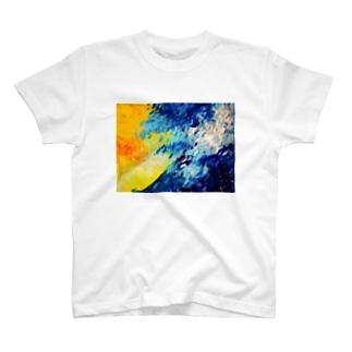 泳ぐ T-shirts