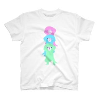 NIKORASU GOのゆめかわラブラ T-shirts