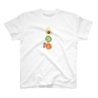 野菜嫌い子ちゃん T-shirts