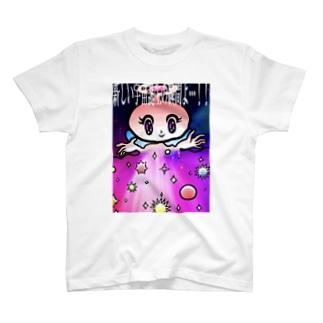 宇宙妖精ちゃんの真理 NAMACOLOVE 新しい惑星の誕生よ! T-shirts