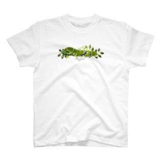 クロアゲハイモムシ T-shirts