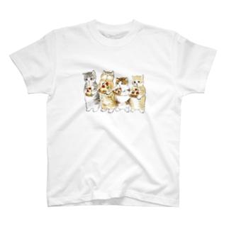 みよーんピザ T-shirts
