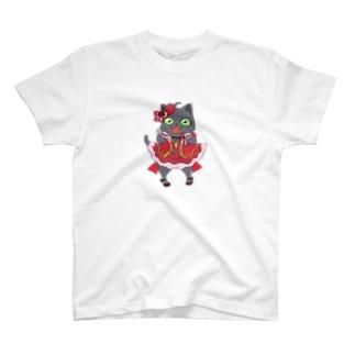 アイドルネコちゃん T-shirts