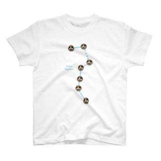 NekoHanako Big Dipper Light Color T-shirts