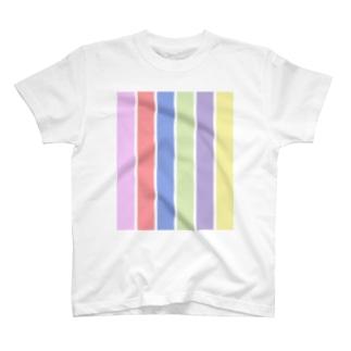 6 stripes T-shirts