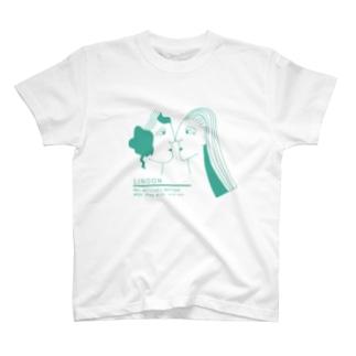 LINDON+世界の名言 T-shirts