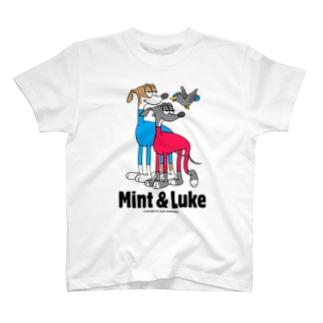 MINTちゃん&LUKEくん専用 T-shirts
