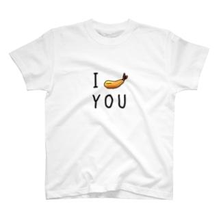 【公式】日本残業協会(JOA)のエビフライ! T-shirts