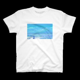 ユキの海の花 T-shirts