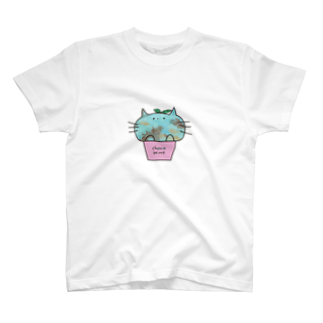 ZERO*のチョコミントにゃんこ T-shirts