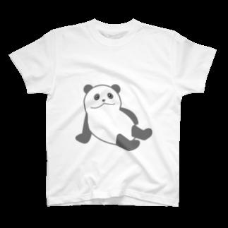 koara031の生意気パンダ T-shirts