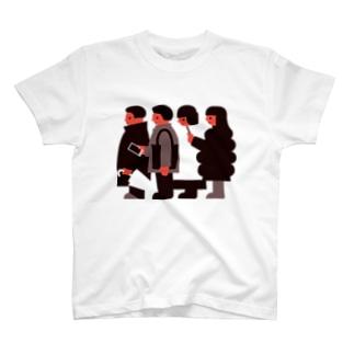 バス停 T-shirts