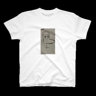 _pekepon_の椅子に魂が篭ったヨ、 T-shirts