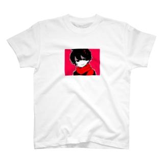 文芸部の後輩くん T-shirts