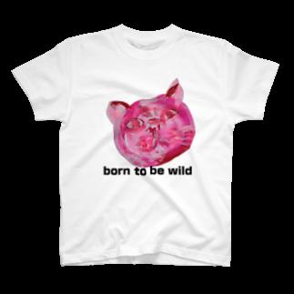 Miakoのぼーんとぅびわいるど T-shirts