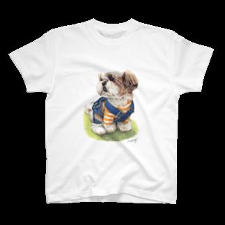 Momojiグッズショップのシーズー53 T-shirts