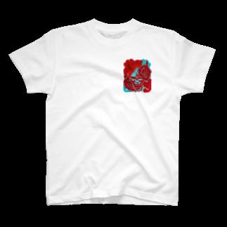 P-PiGの阿吽の般若ー吽ー T-shirts
