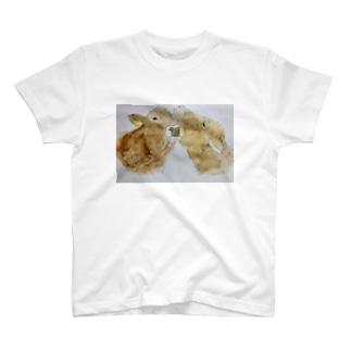 スタッフの描く牛たち T-shirts