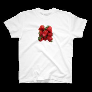 wo hao jiaozi.のいちご T-shirts