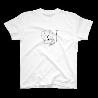 takabon25のマッチ棒お猿くん T-shirts