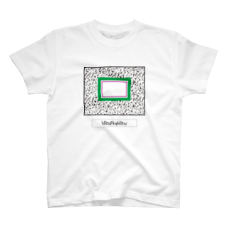 Mamey的甜蜜小店のMY SEKAI(緑×紫) T-shirts