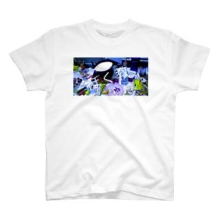 汚部屋(つくえ) T-shirts