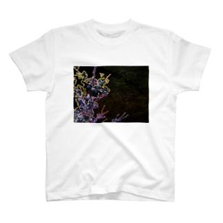 桜 サクラ cherry blossom DATA_P_093_F T-shirts