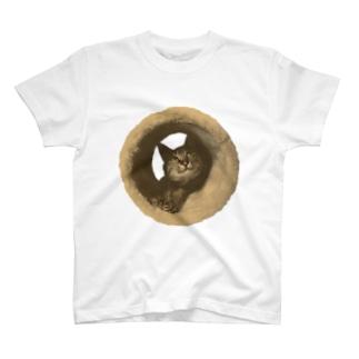 遠目で見たらドーナツ T-shirts