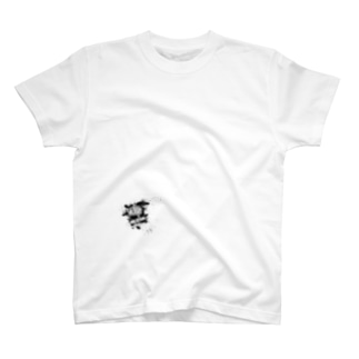 MR,BRAINオフィシャルグッズのMR,BRAIN ロゴTシャツ Aモノ 全面 Tシャツ T-shirts
