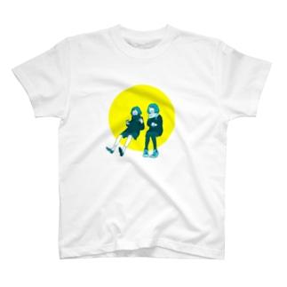 談笑ガールズ T-shirts
