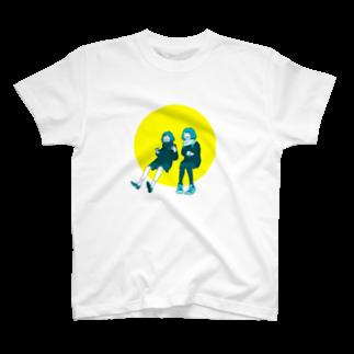 マキノノマの談笑ガールズ T-shirts
