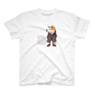 おしゃれ秋田犬 T-shirts