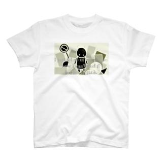 ガラクタ 文字入り T-shirts
