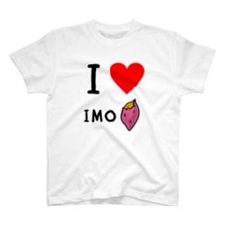 I LOVE IMO Tシャツ T-shirts