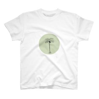 Simple palm tree T-shirts
