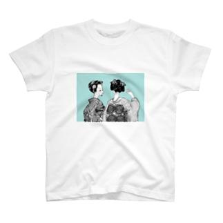 舞妓ちゃん③ T-shirts