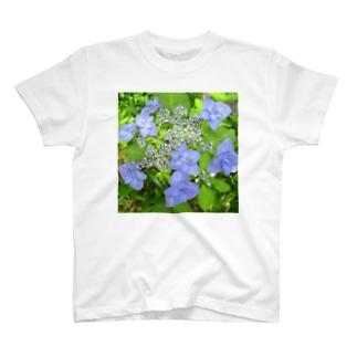 深山八重紫 T-shirts